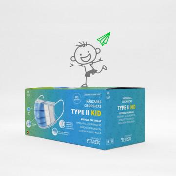TYPE II Masks KID · Blue